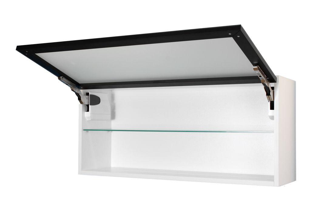 Hangeschrank glasfront for H ngeschrank schwarz
