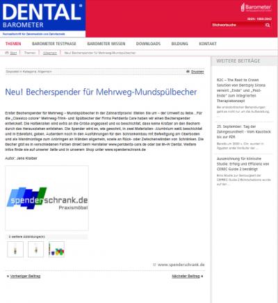 Artikel Dental-Barometer